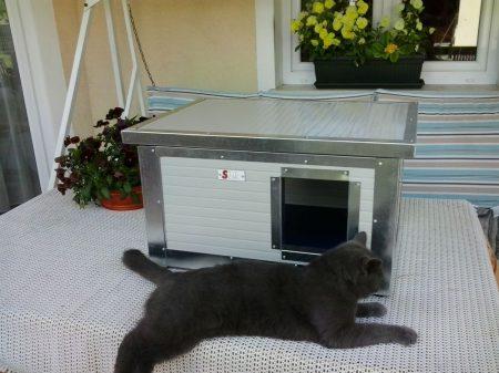 Katzenhaus beheizbare